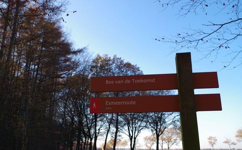 voetzoekers – Esmeerroute 1