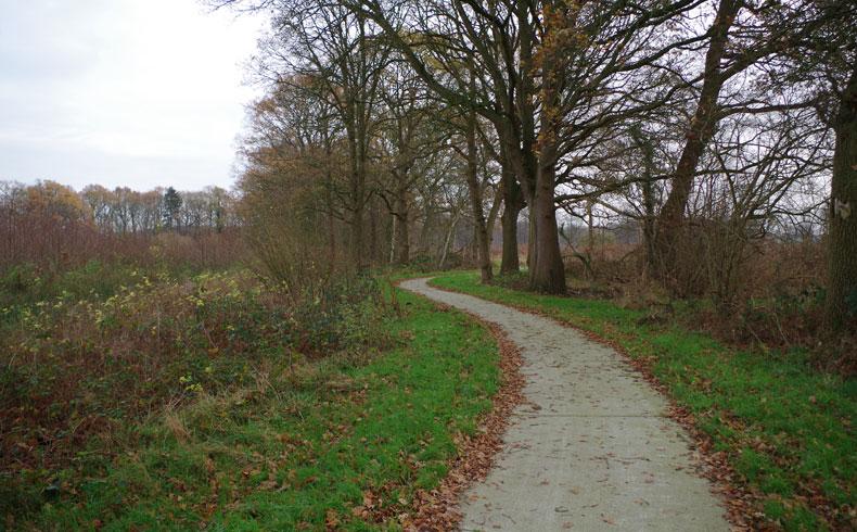 voetzoekers – Familiepad Drentsche Aa – Route 12