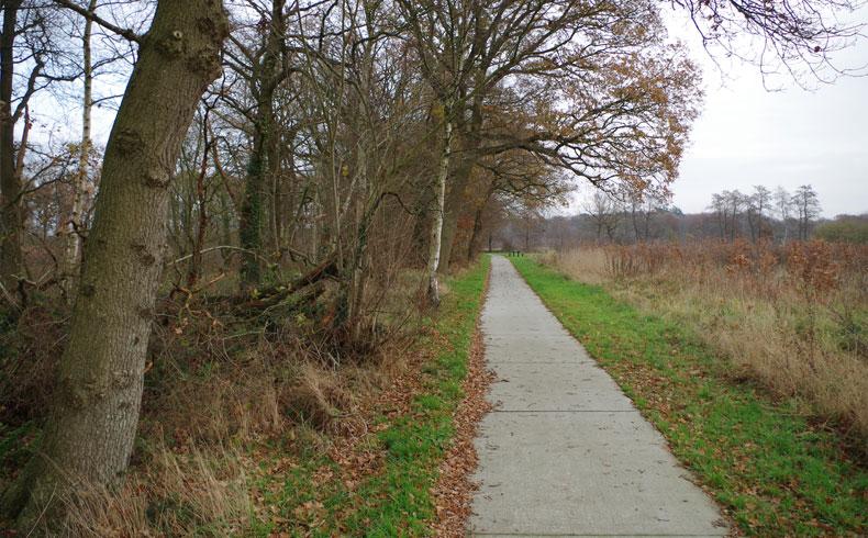 voetzoekers – Familiepad Drentsche Aa – Route 13