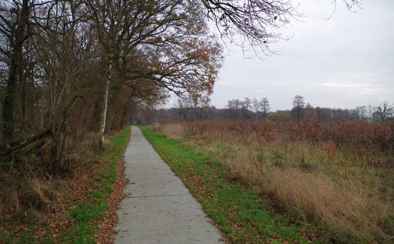 voetzoekers – Familiepad Drentsche Aa – Route 14