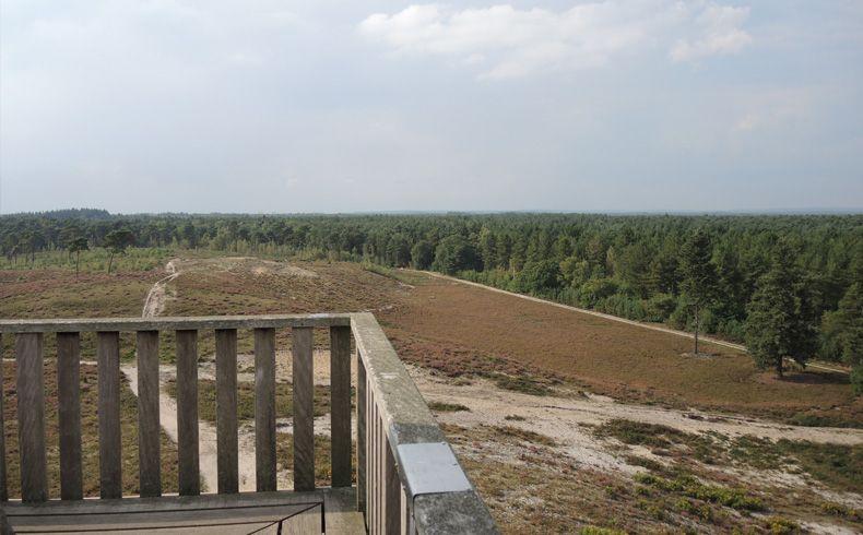 voetzoekers – Uitkijktoren Afferden – Ballustrade