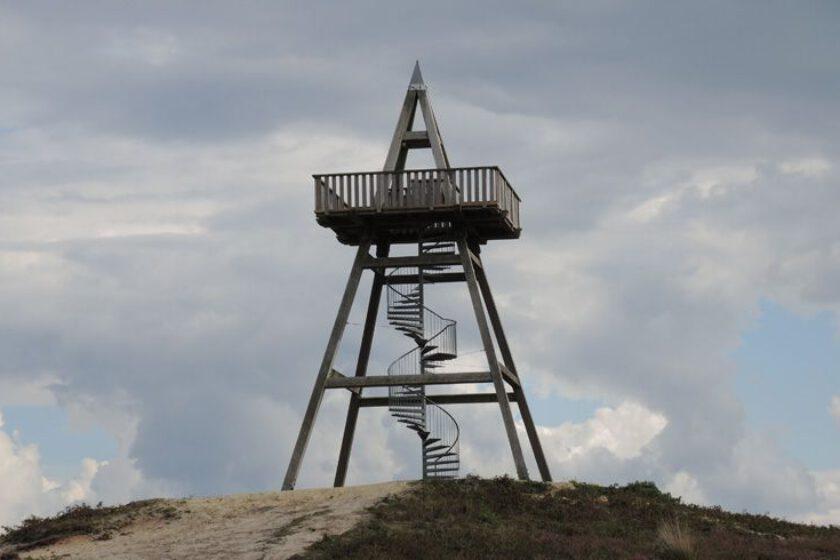 voetzoekers – Uitkijktoren Afferden – De uitkijktoren
