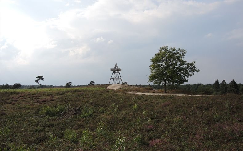 voetzoekers – Uitkijktoren Afferden – In zicht
