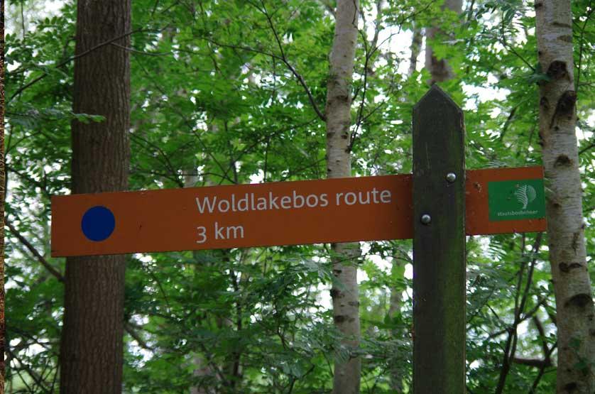 voetzoekers Woldlakebos 1