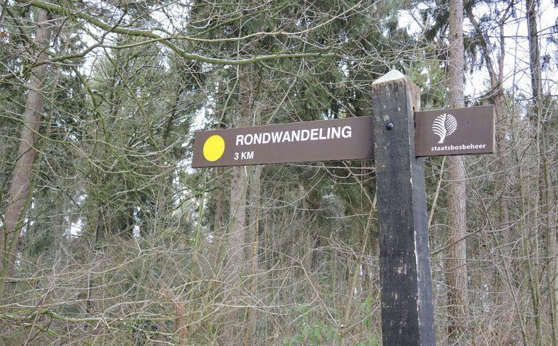 voetzoekers-noordbargerbos-noord-routepaal