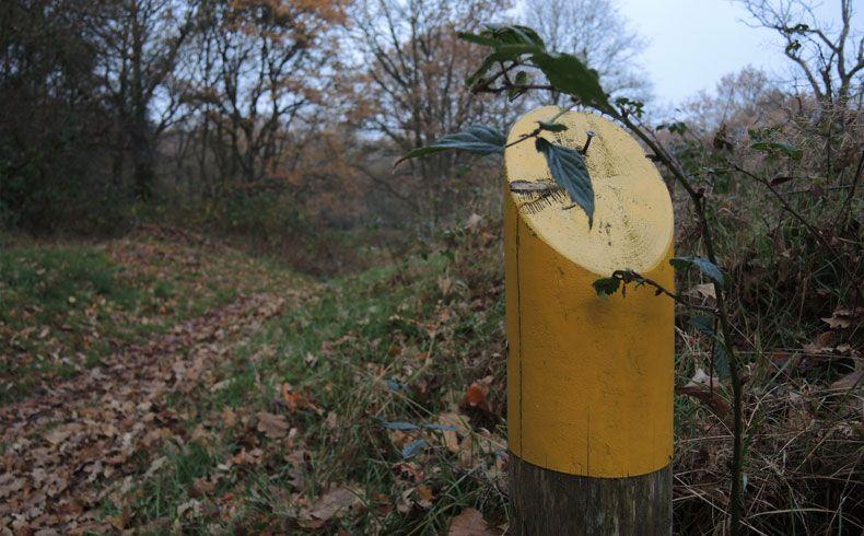 voetzoekers-appelbergen-routeaanduiding